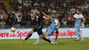Arkadiusz Milik Lazio Napoli Serie A