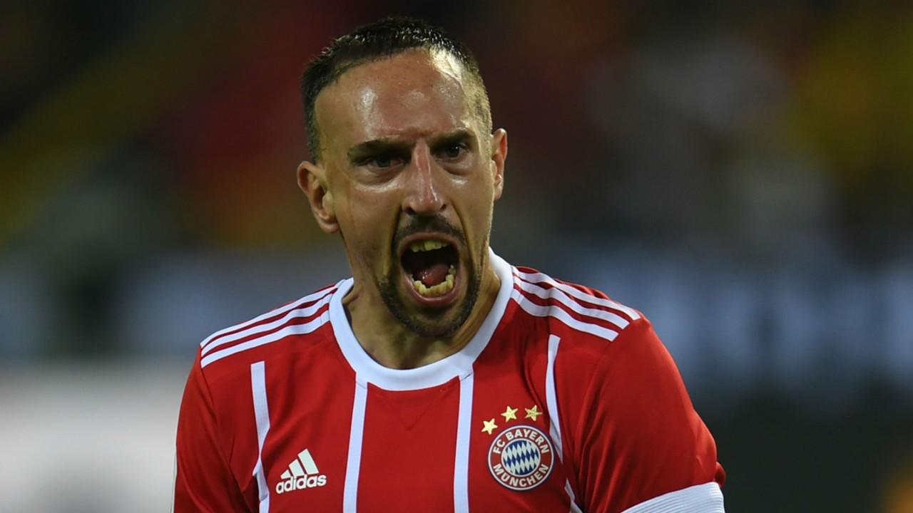 Franck Ribery facing uncertain Bayern Munich future