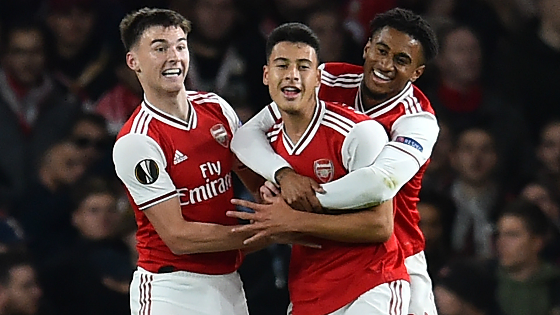 Gabriel Martinelli Arsenal 2019-20