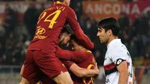 Bryan Cristante Roma Genoa Serie A
