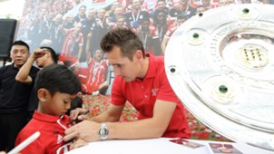 Miroslav Klose, FCB Tour Singapur, 26072017