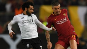 Salah Kolarov Roma Liverpool Champions League