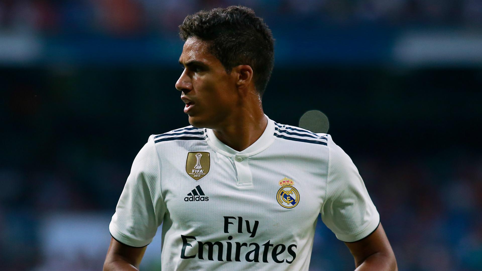 Raphael Varane Real Madrid 2018-19
