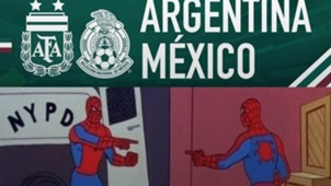 Memes Argentina México 201118