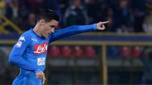 José Callejon Bologna Napoli Serie A