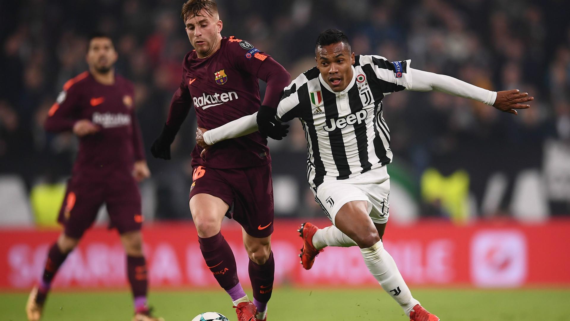 Alex Sandro Gerard Deulofeu Juventus Barcelona Champions League