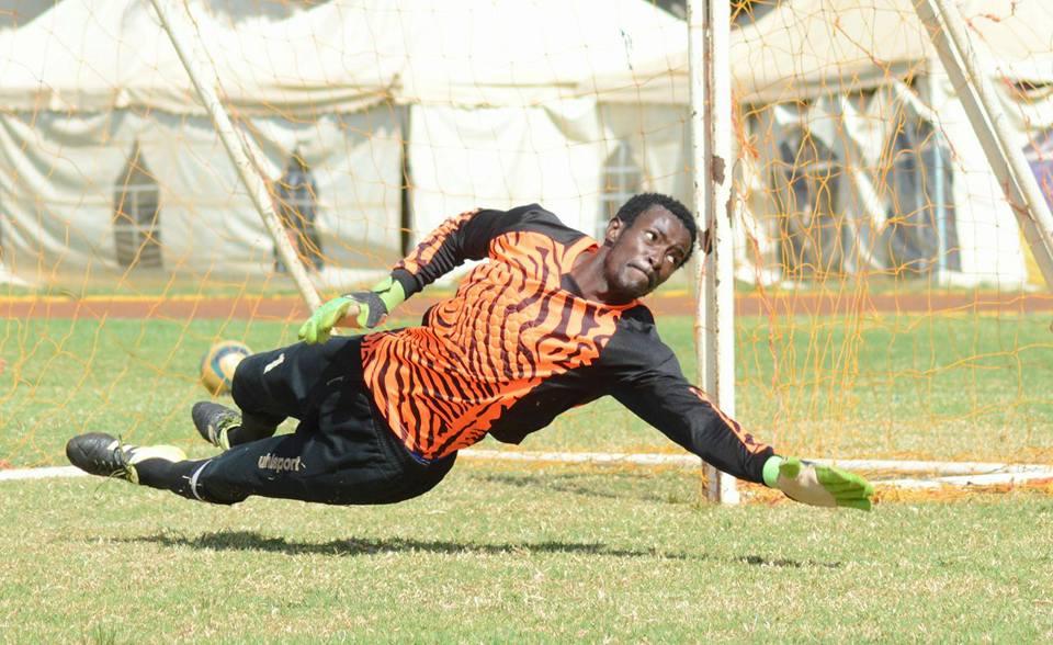 Robert Mboya on Uhlsport
