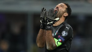 Buffon Italy Sweden World Cup Qualification Play-off 12132017
