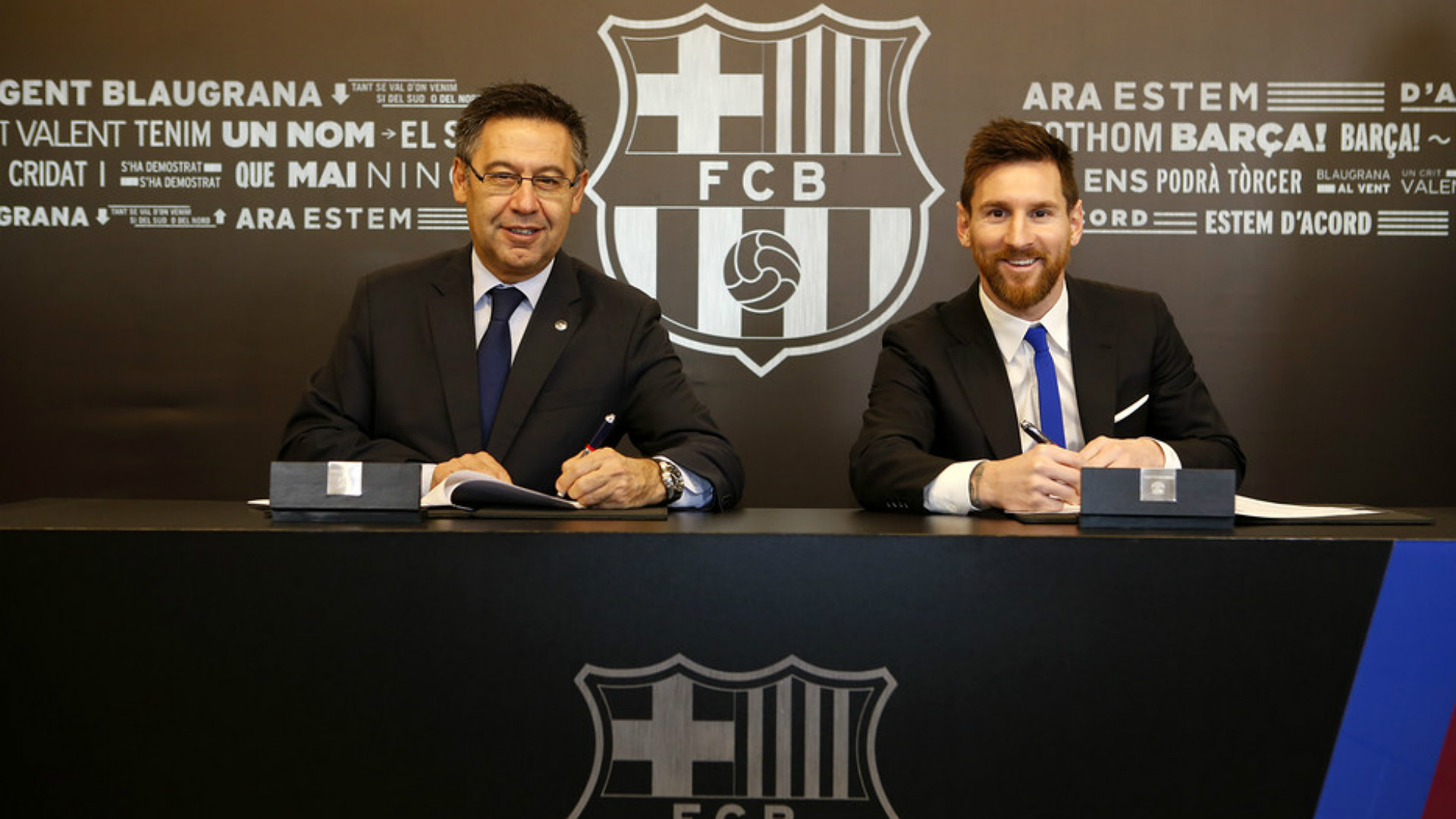 Lionel Messi Bartomeu contract