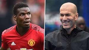 Paul Pogba Zinedine Zidane split