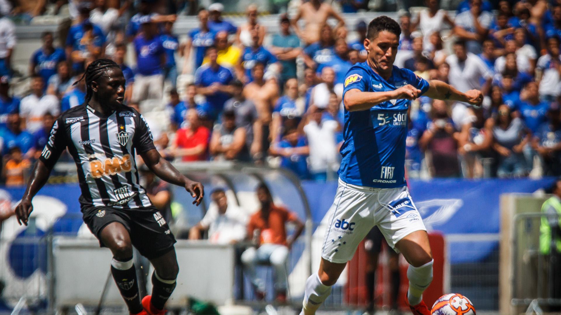 Thiago Neves Yimmi Chará Cruzeiro Atlético-MG Mineiro 27012019