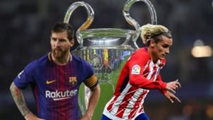 GFX Barcelona Griezmann Champions League