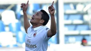 Carlos Bacca Sassuolo Milan Serie A
