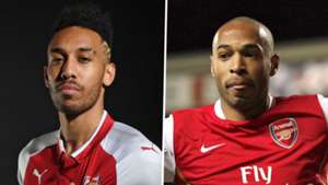 Pierre-Emerick Aubameyang Thierry Henry