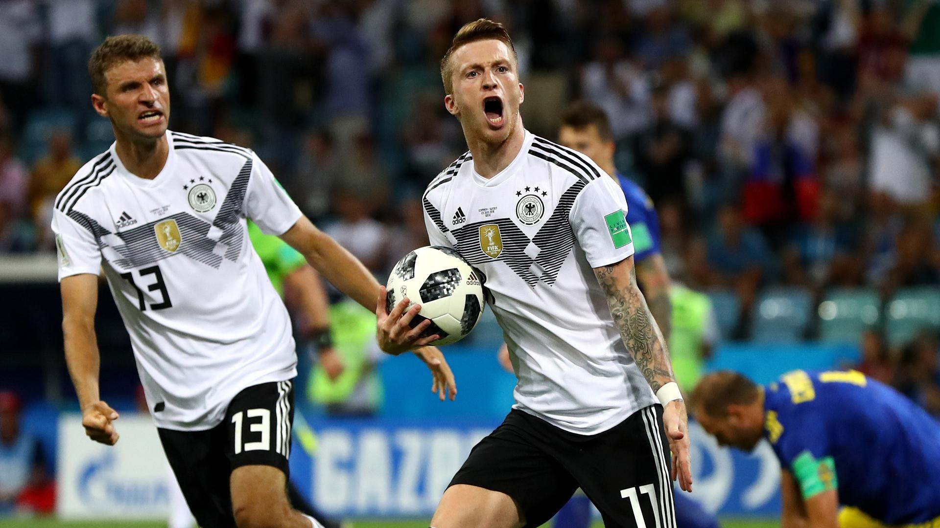 Germany Sweden Marco Reus Thomas Müller