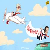 Cartoon Emery and Wenger
