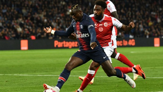 Romain Metanire Moussa Diaby PSG Reims Ligue 1 26092018