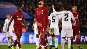 Virgil van Dijk Liverpool Champions League 11282018