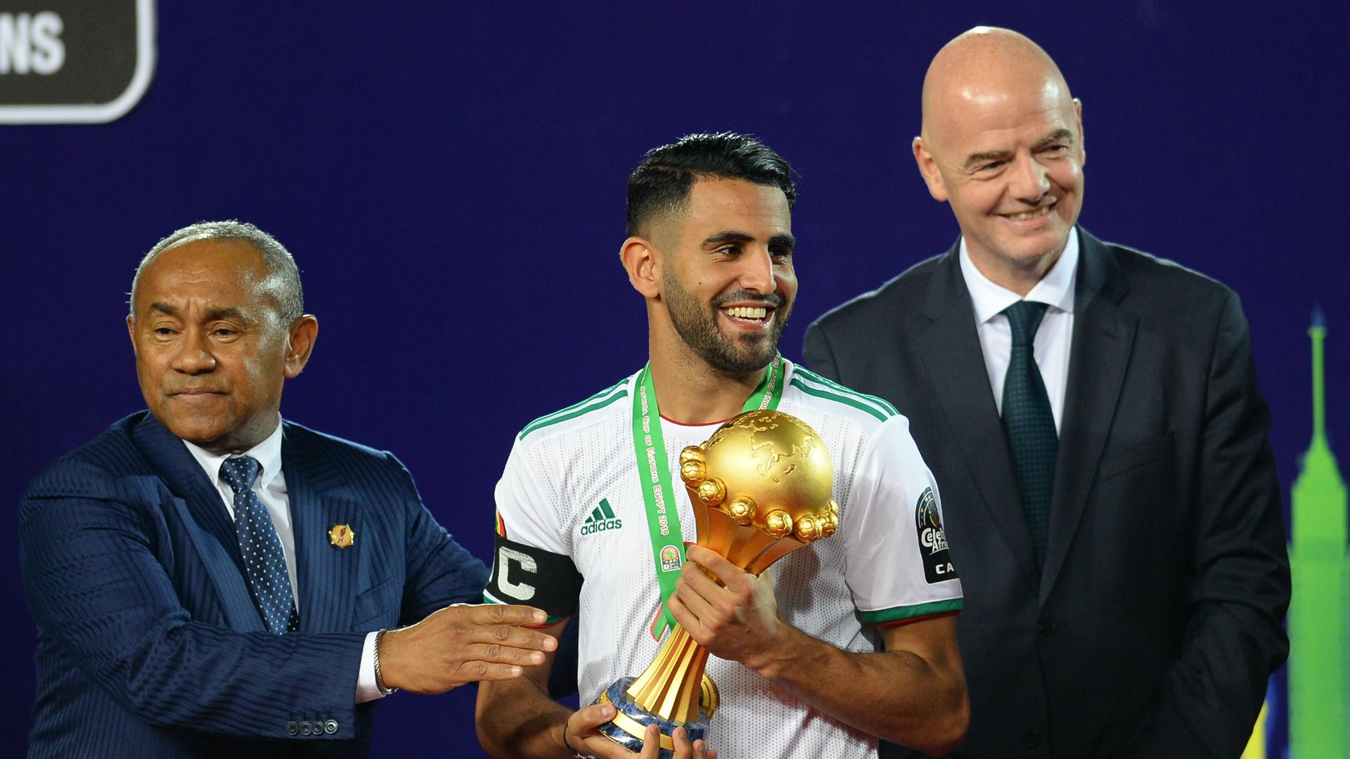 Riyad Mahrez - Algeria vs Senegal Afcon final