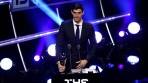 Thibaut Courtois FIFA THE BEST 2018
