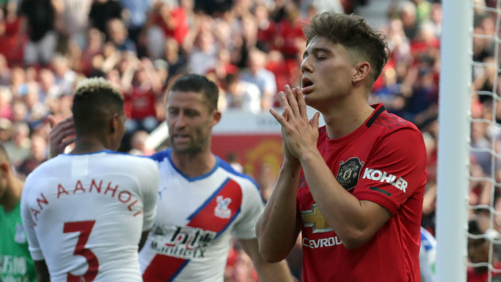 Daniel James Manchester United Crystal Palace 240819