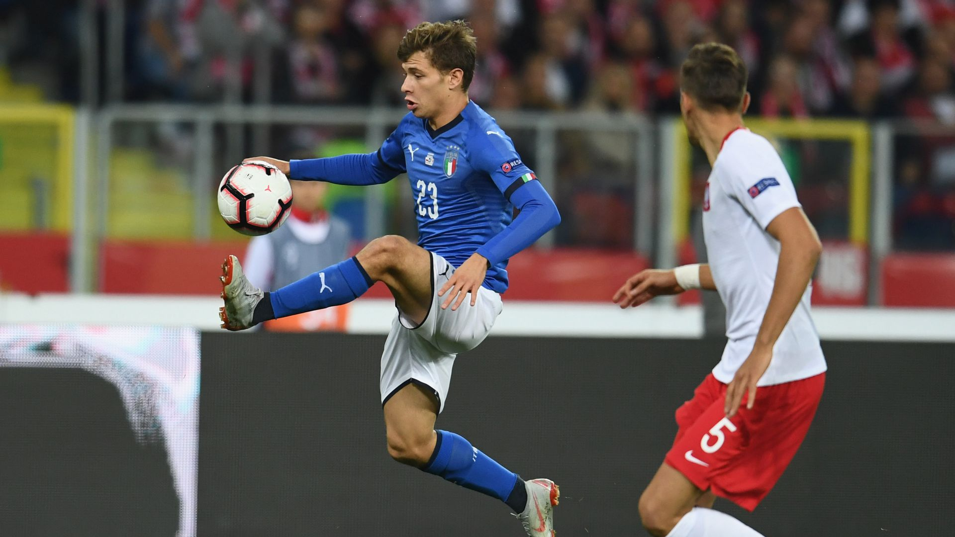 Nicolò Barella Poland Italy UEFA Nations League