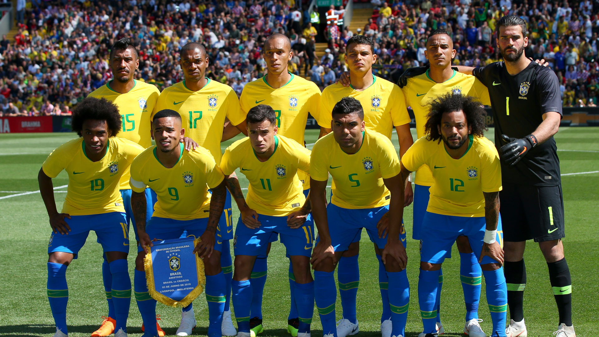 Brazil Croatia Friendlies 03062018