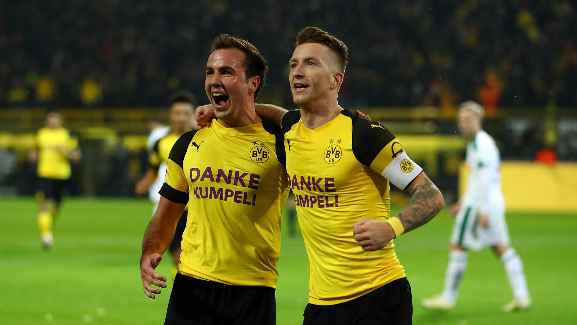 Borussia Dortmund Marco Reus Mario Götze 21122018