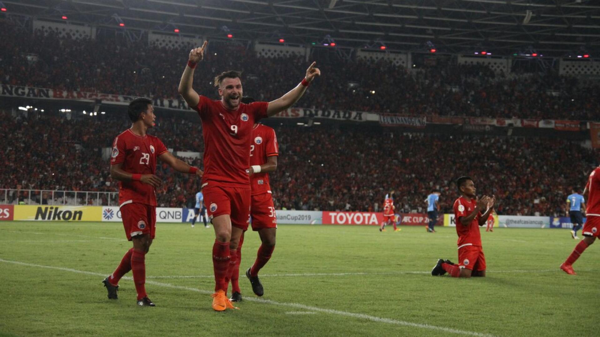 Image result for Persija Jakarta 4-0 JDT