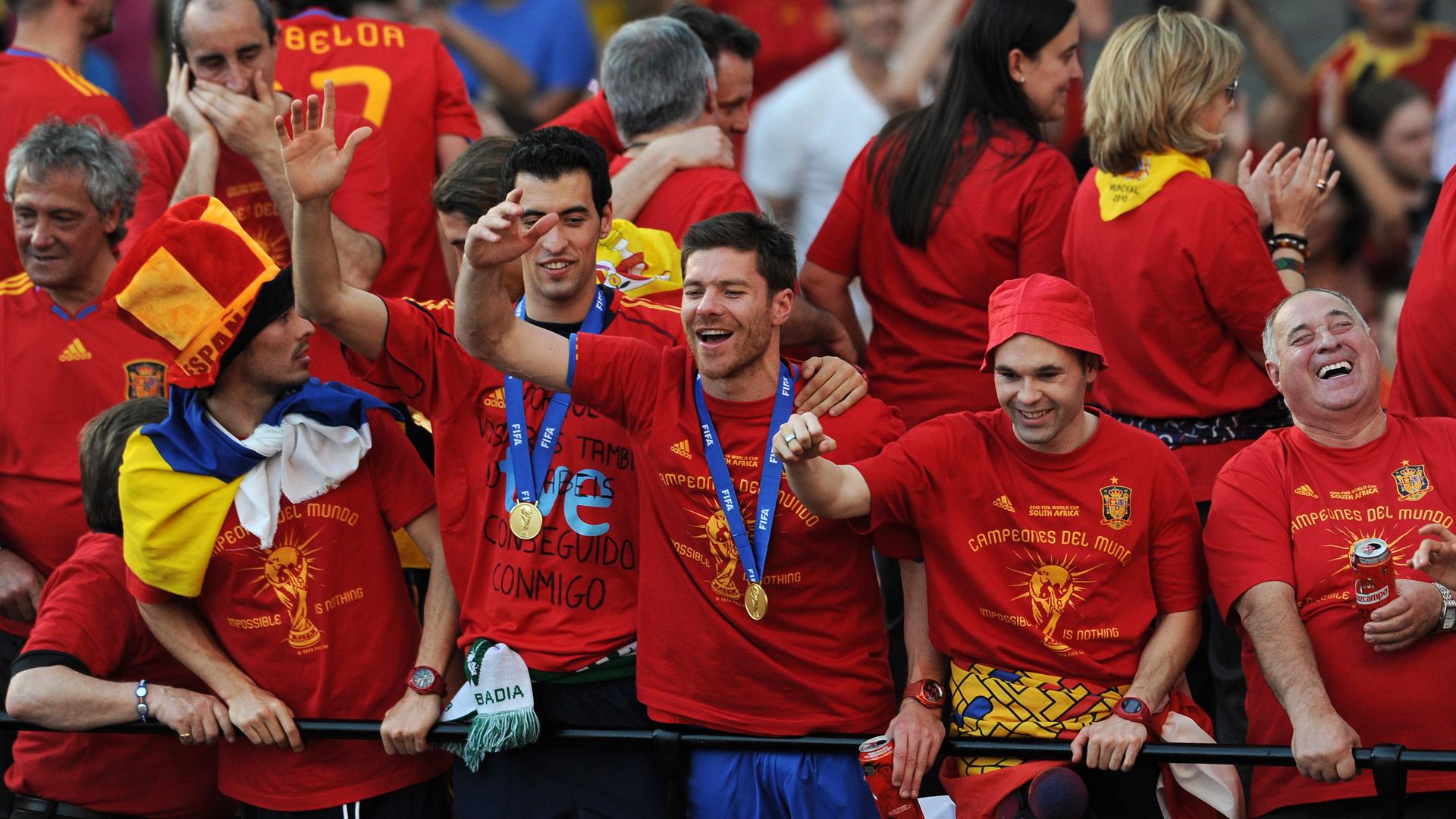 Xabi Alonso Spain 12072010