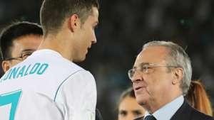 Cristiano Ronaldo Florentino Perez Real Madrid