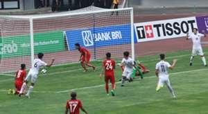 Asian game 2018, laos vs hong kong.