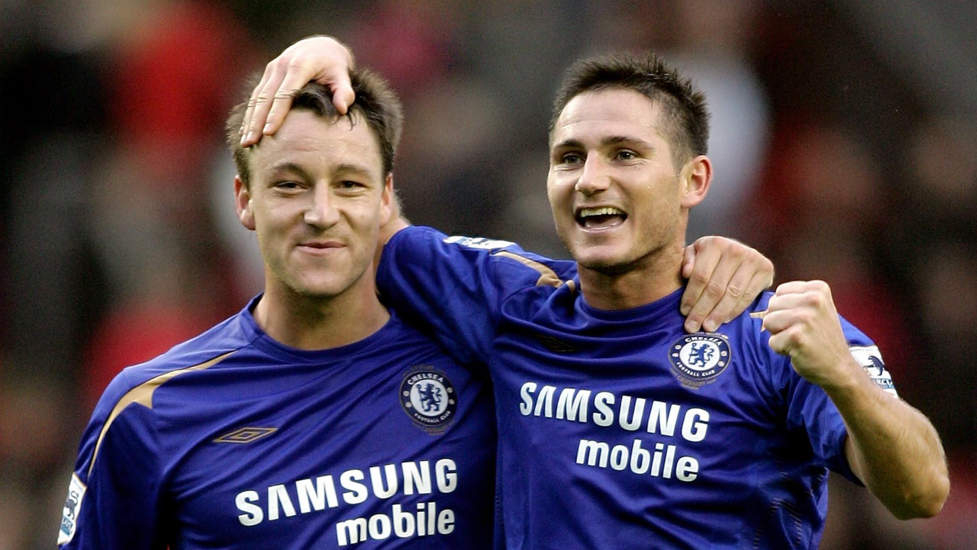 Frank Lampard John Terry Chelsea Premier League