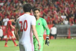 World cup qualification game, Hong Kong 0:2 lost to Iran.