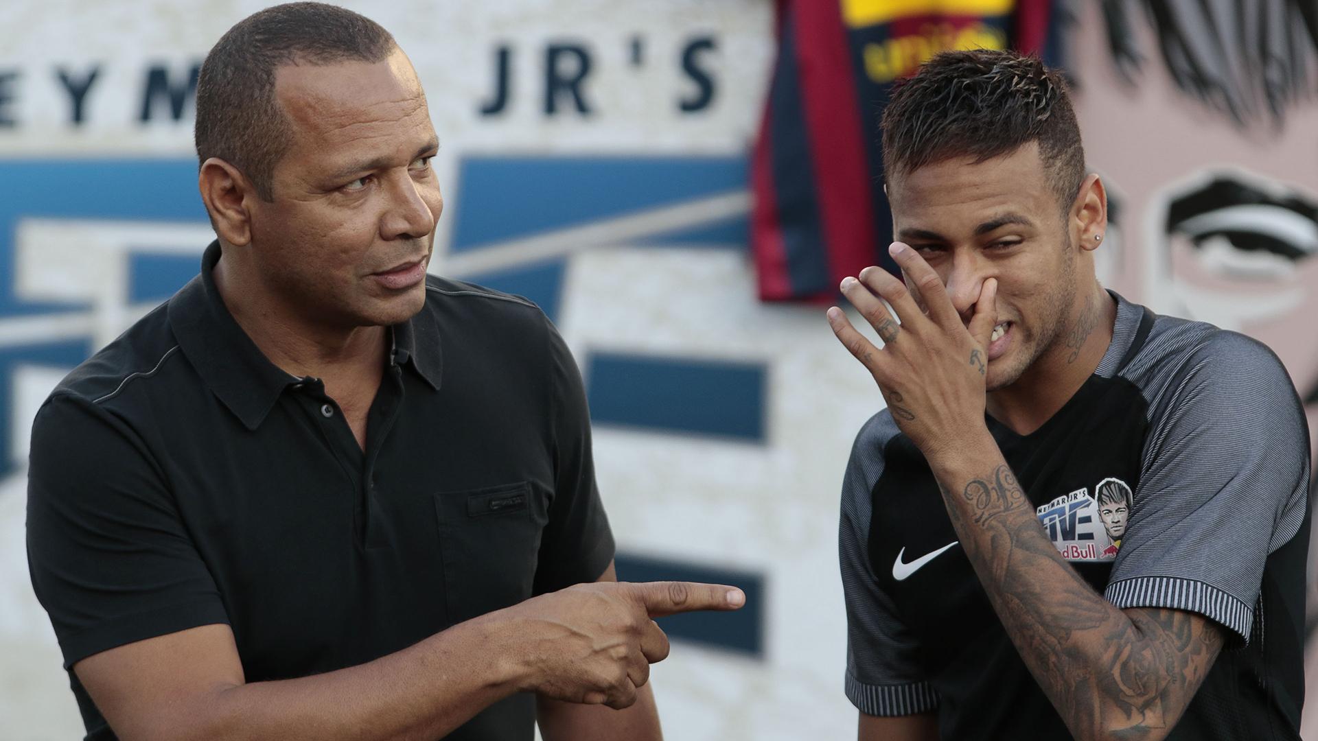 Neymar + Neymar Sr