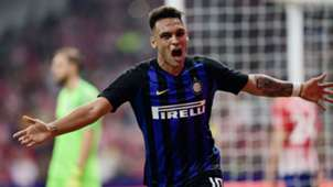 Lautaro Martinez Atletico Madrid Inter International Champions Cup