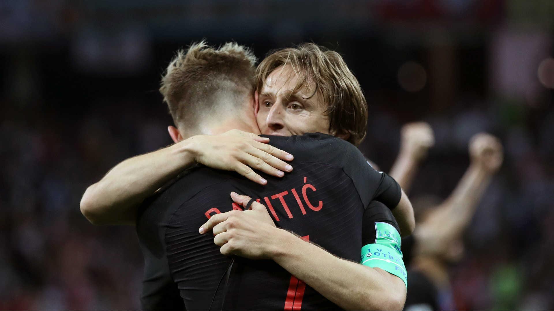 2018-07-08 Ivan Rakitic Luka Modric