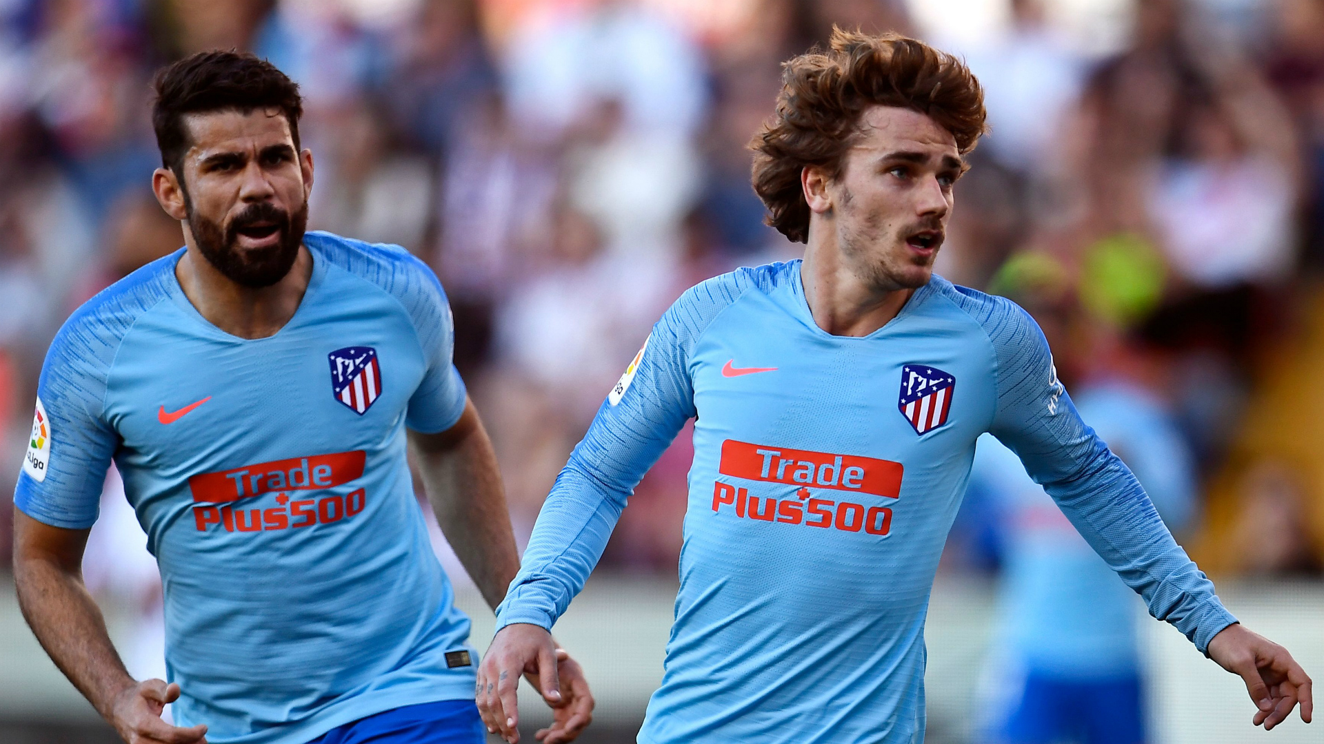 Griezmann helps below-par Atletico scrape win over Rayo
