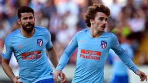 Antoine Griezmann Diego Costa Atletico Madrid