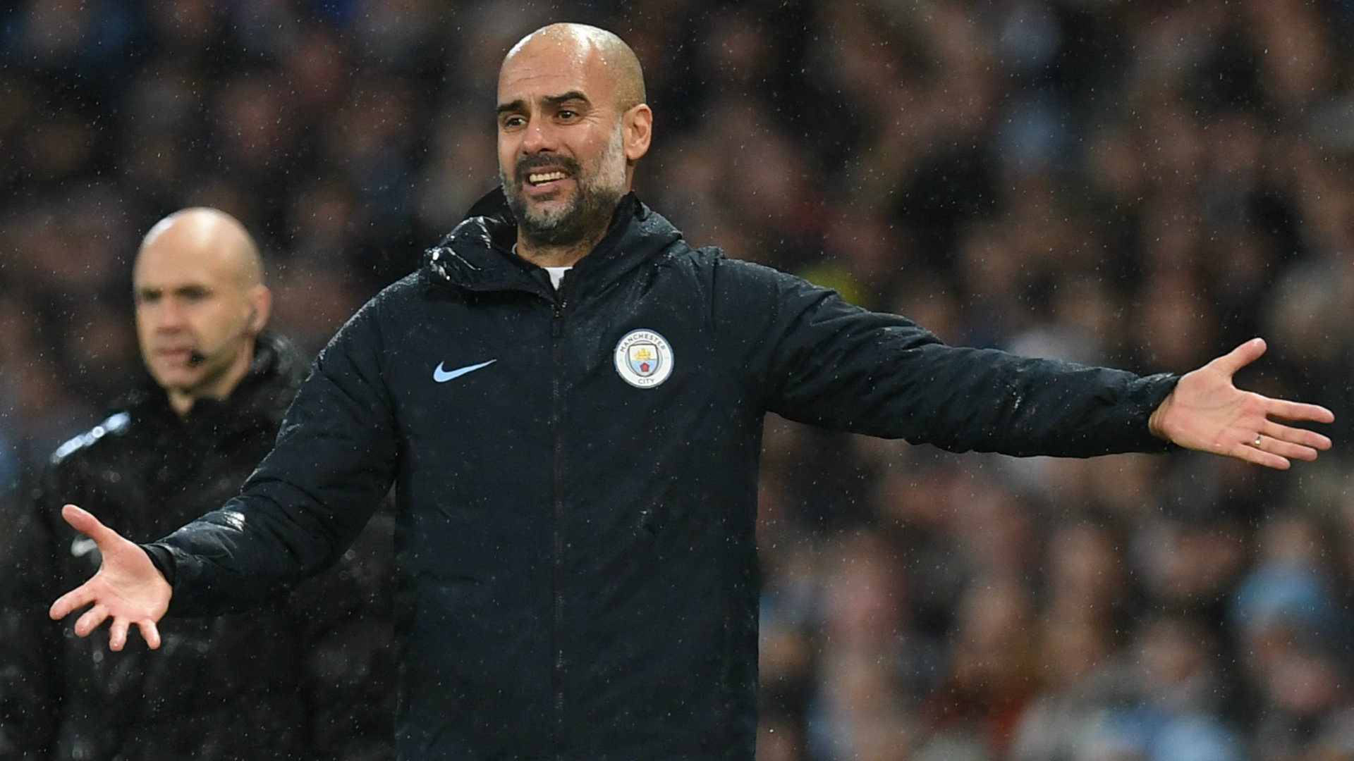 Pep Guardiola Manchester City vs Crystal Palace Premier League 2018-19