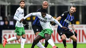 Alfred Duncan Inter Sassuolo Serie A
