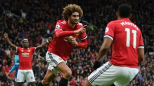 Fellaini Manchester United Arsenal
