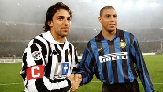 Alessandro Del Piero Luiz Nazario da Lima Ronaldo Juventus Inter Serie A 10251998