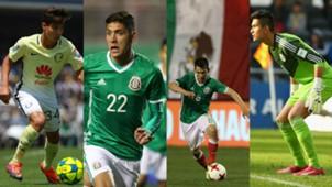 El XI Ideal de Mexico en el Mundial de 2026 Collage