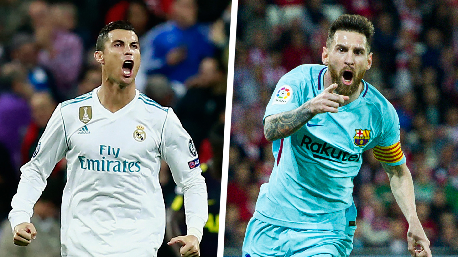 El Clasico top scorers: Messi, Ronaldo and the all-time greats