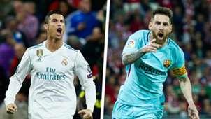 Ronaldo Messi Split