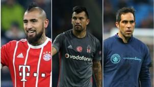 Chilenos en Champions