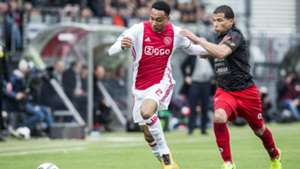 Kenny Tete, Anouar Hadouir, Excelsior - Ajax, Eredivisie, 03192017