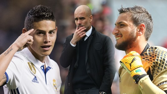 James, Pep, Donnarumma SPLIT