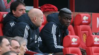 Paul Pogba Manchester United bench sub